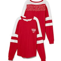 University of Wisconsin Varsity Pocket Crew - PINK - Victoria's Secret