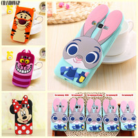 3D Cartoon Soft Silicone Case for Samsung Galaxy J1 J3 J5 J7 2016 J120 A5 J1Mini S3 S4 S5 Neo S6 S7 Edge Grand Prime G531 Cover