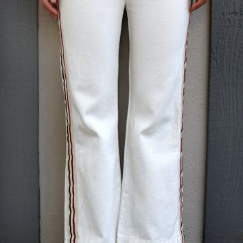 Straight Fit Jeans - White Denim by POL Clothing