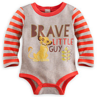 Simba Long Sleeve Disney Cuddly Bodysuit for Baby