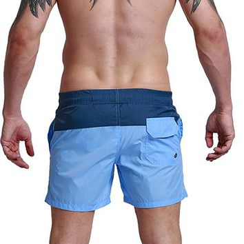 Patchwork Quick Dry Board Shorts