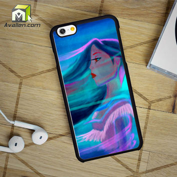 Pocahontas Paint iPhone 6 Case by Avallen
