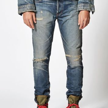 FOG - Fear Of God Essentials Skinny Taper Jeans at PacSun.com