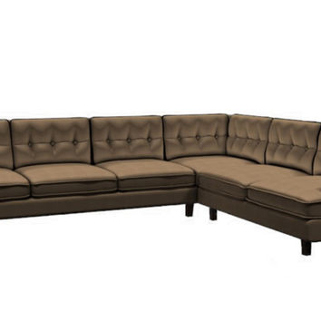 Color Customizable Leather Large True Sectional Sofa Barbara by Palliser