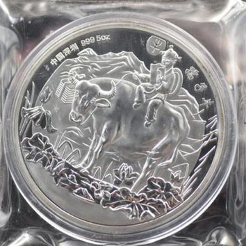 1997 Chinese 5oz Ox Commemorative Coin