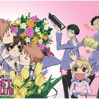 Ouran High School Host Club: Smothered Haruhi Wall Scroll