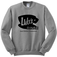 "Gilmore Girls ""Luke's Diner"" Crewneck Sweatshirt"