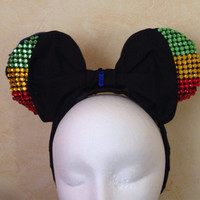 Rasta Mouse Ears