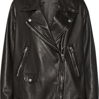 Acne Studios - Swift Light oversized leather biker jacket