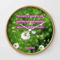 Tender Mercies Wall Clock by Peter Gross