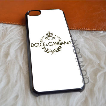 Dolce and Gabbana White iPhone 5C Case