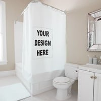 Design Your Own Custom Photo Shower Curtain