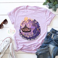 Tangled Rapunzel Lantern 'At Last I've Seen the Light' Unisex T-Shirt