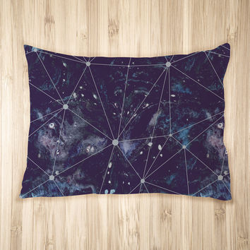 Cosmic Watercolor Pet Bed