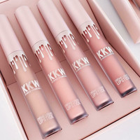 KKW Pink Set 4-pcs Cup Matt Lip Gloss [11002335308]