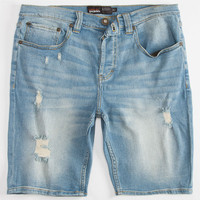 Rsq London Skinny Mens Shorts Destructed  In Sizes