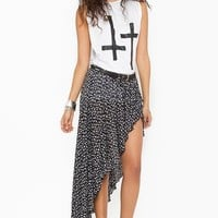 Cameron Floral Skirt  in  Clothes Bottoms at Nasty Gal