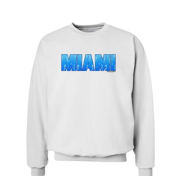 Miami Ocean Bubbles Sweatshirt by TooLoud