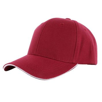 Men Women Blank Plain Baseball Cap Curved Sports Visor Sun Golf Hat Adjustable Sunmer Hat