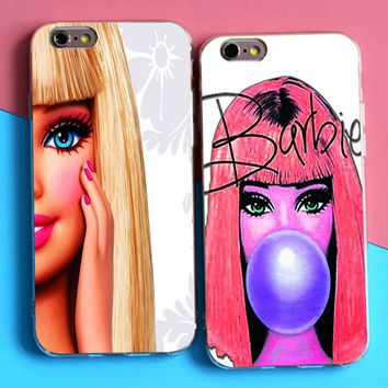 DK barbie Bitch doll face phone Case Hard Cover for Samsung s8 s9plus S6 S7Edge S5 for iPhone 6 6s 7 8plus 5s 4s X XS XR XSMAX