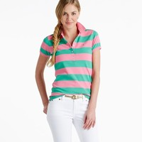 Bold Stripe Shoreline Polo