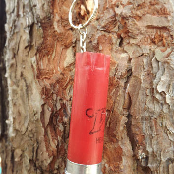 Shotgun shell key chain, silver shotung key chian, winchester 12 gauge, hunting accessories, gun key chain, country, camo keychain, redneck