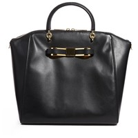 Ted Baker Barrico Leather Bow Winged Bag - black