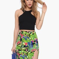 Tropic Pencil Skirt