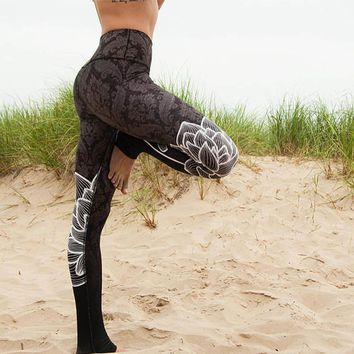 Womens Lotus Leggings