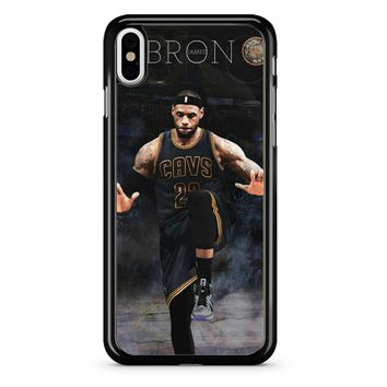 Lebron James The Goat iPhone X Case