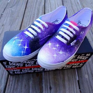VLXZRBC Galaxy Vans Shoes by UrbanRags on Etsy