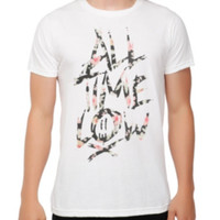 All Time Low Floral Logo T-Shirt