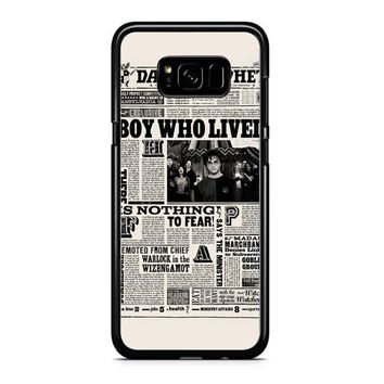 Harry Potter Daily Prophet Samsung Galaxy Note 5 Case