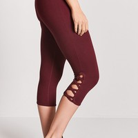 Active Crisscross Capri Leggings