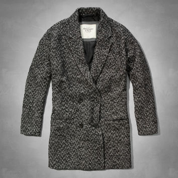 Madeline Herringbone Coat