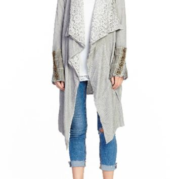 Stories of Shawl Pale Gray