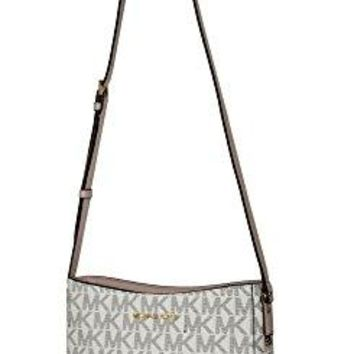 MICHAEL Michael Kors Women's HATTIE Large Messenger Shoulder Handbag Michael Kors bag