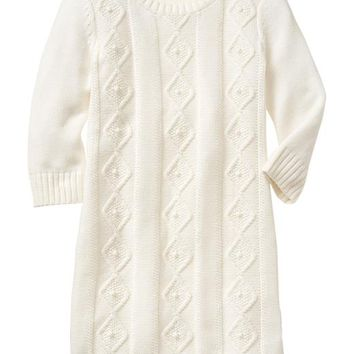 Gap Girls Factory Cable Knit Dress