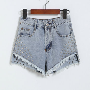 Sexy Women Shorts Denim Shorts Casual Vintage = 4823999684