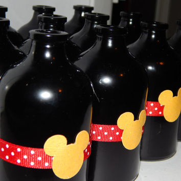 Disney Fish Extenders - Mickey Mouse Party Favors - Mickey Mouse Jars - Set of 12
