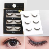 Buy Mogugu Set of 3: False Eyelashes | YesStyle