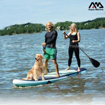 iSup inflatable stand up paddle board