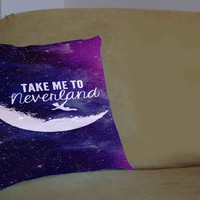peter pan - Pillow Case, Pillow Cover, Custom Pillow Case **