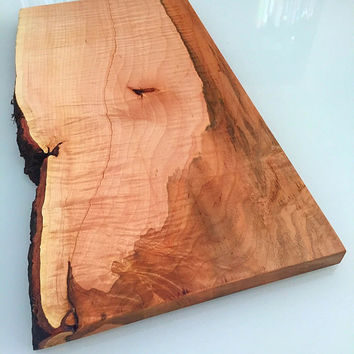 25% Off Sale***Unique Natural Maple Live Edge Cutting/Serving/Display Board