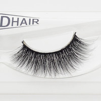 Visofree 3D Mink Eyelashes Upper Lashes 100% Real Mink Strip Eyelashes Handmade Crossing Mink Eye Lashes Extension A05-JM