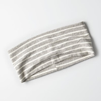 AEO Grey Knit Headband, Gray