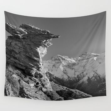 Living at 3479 meters hight Wall Tapestry by Guido Montañés
