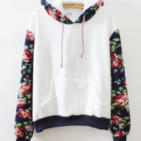 FASHION HOT FLOWER SWEATER FLEECE