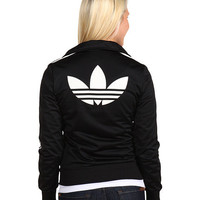 adidas Originals Firebird Track Top Black/White - Zappos.com Free Shipping BOTH Ways