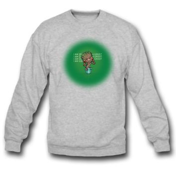 I AM GROOT I AM GROOT SWEATSHIRT CREWNECKS
